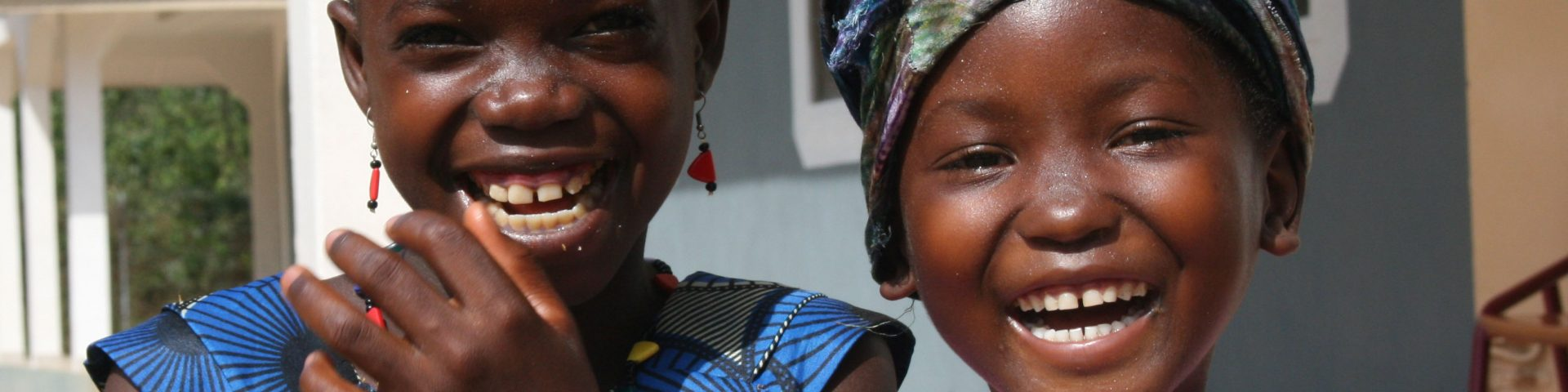 Lachende afrikaanse kinderen