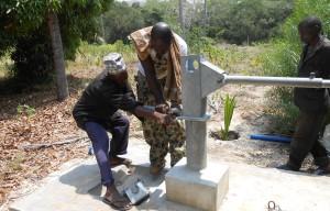 Water voor mensen in Kenia