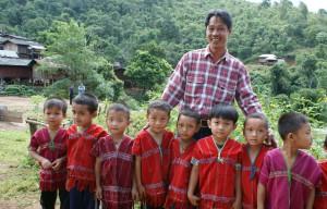 Onderwijs Thailand klas leraar school
