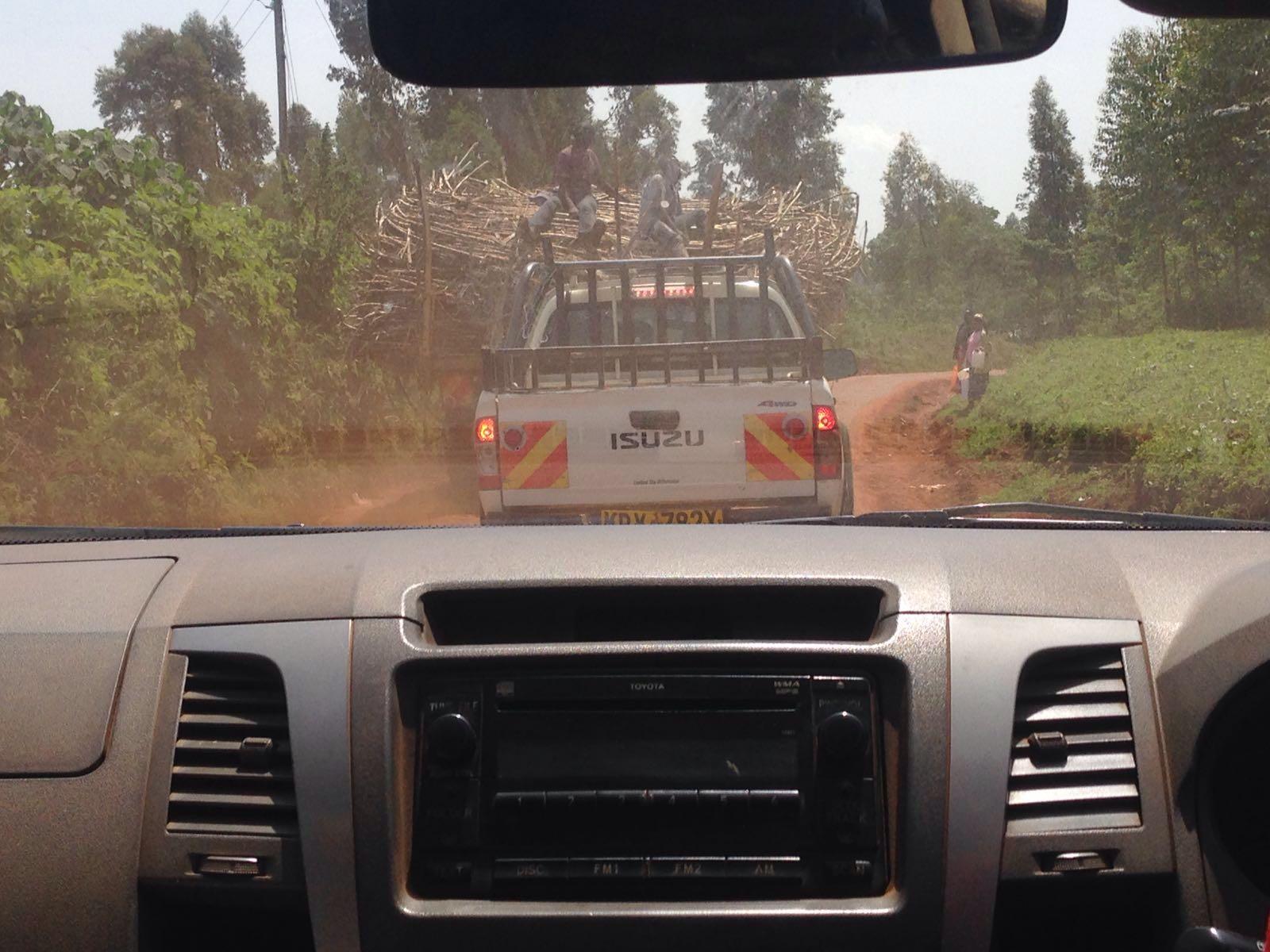 Tineke-auto-Kenia