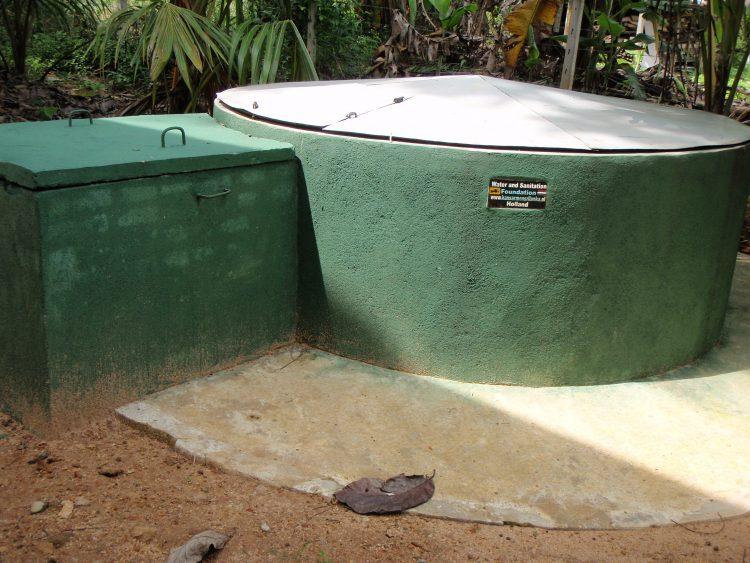 De nieuwe waterput is af!