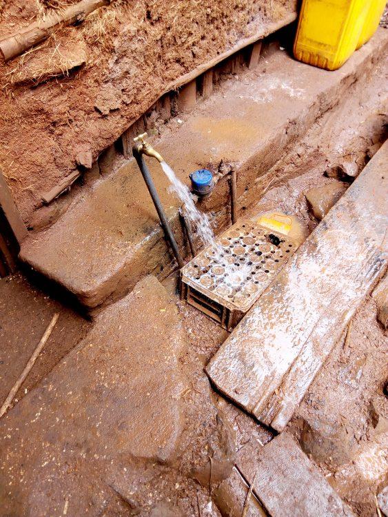 Schoon water uit de kraan in Ethiopië.
