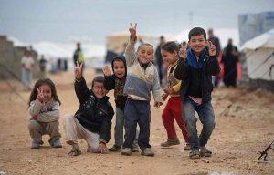 Vluchtelingen in Syrië