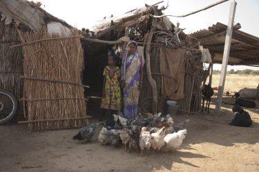 Moeder en dochter India