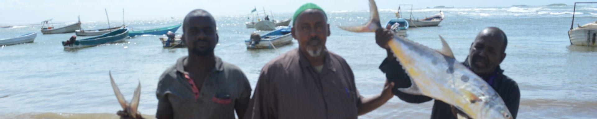 Steun 50 vissers in Somalië