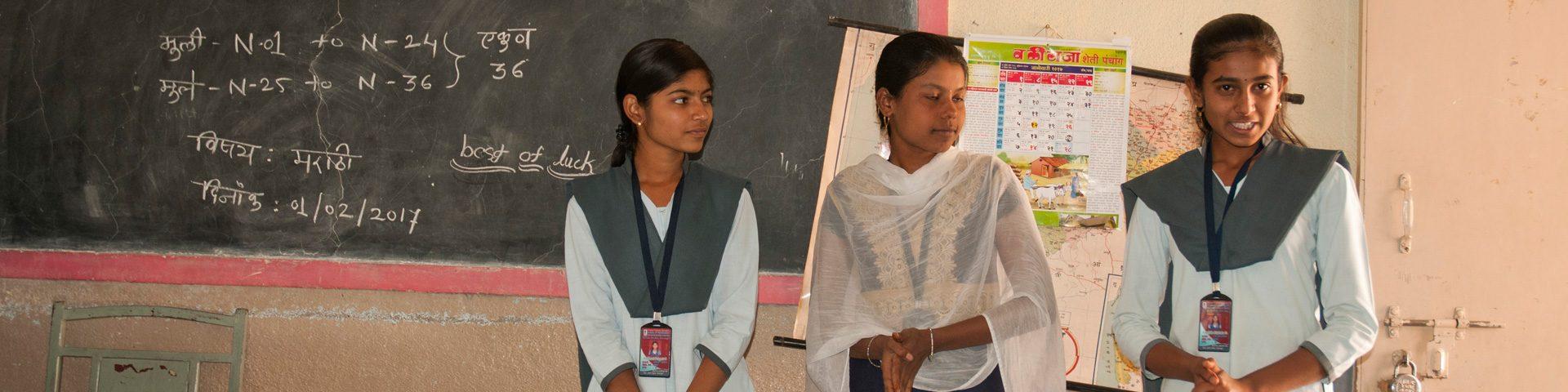 Onderwijs voor meisjes in India
