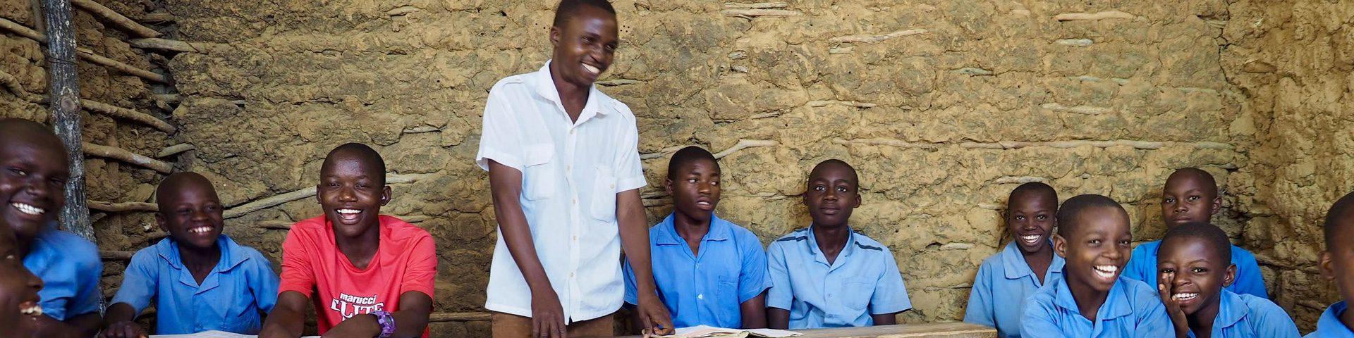 Basisschool in Kenia