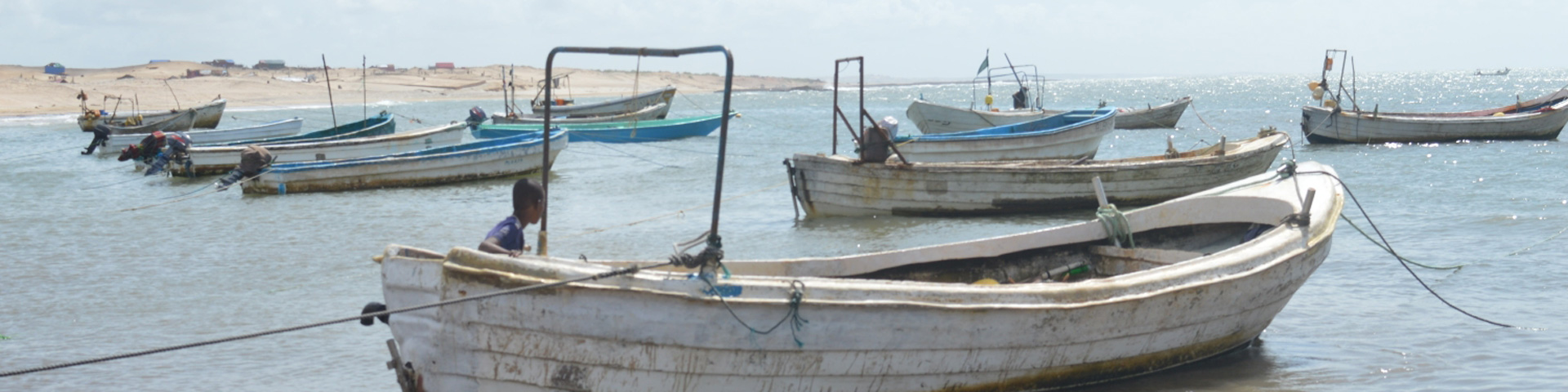 Vissersboten in Somalië