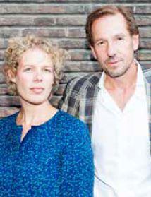 Bianca Looman en Roek Lips, schrijvers van Droom en Daad