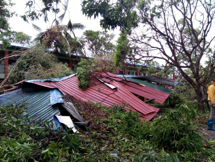 Stormschade na orkaan Idai