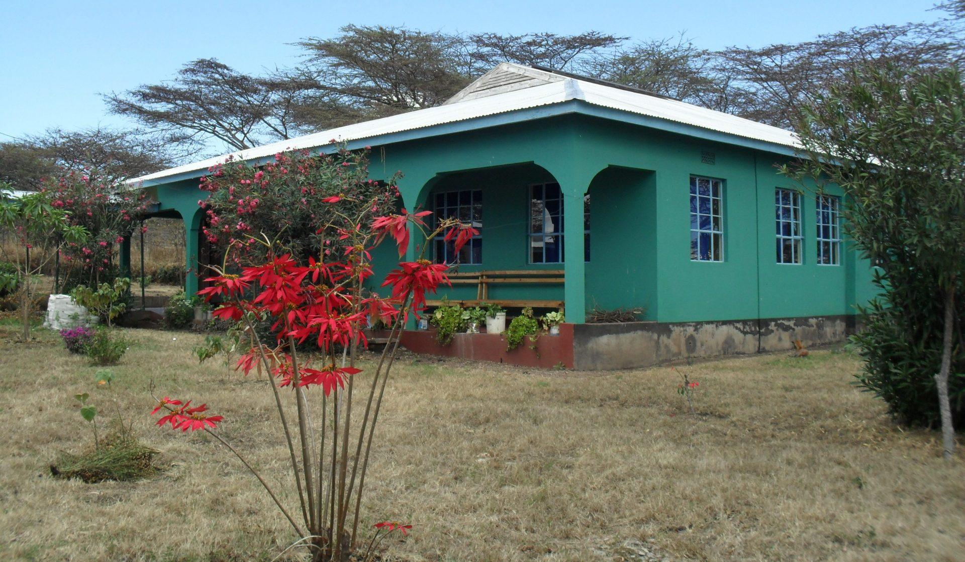 Een nieuwe kraamafdeling in Tanzania.