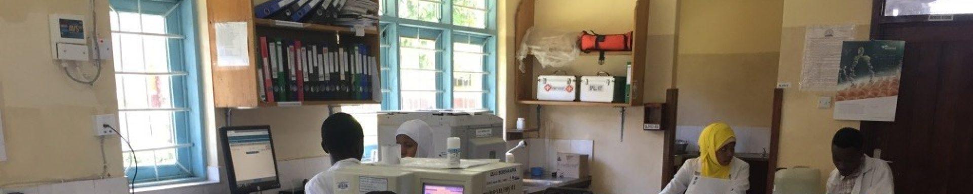 Het laboratorium is na cycloon Idai ook weer volledig operationeel.